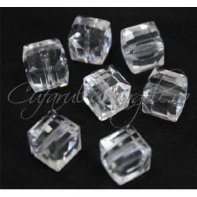 Cristale cub alb 4 mm