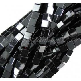 Hematite cubice negre 3 mm