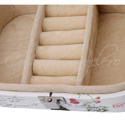 Caseta bijuterii baby shower 15x10x5cm