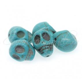 Turcoaz sintetic craniu 18x13x17mm