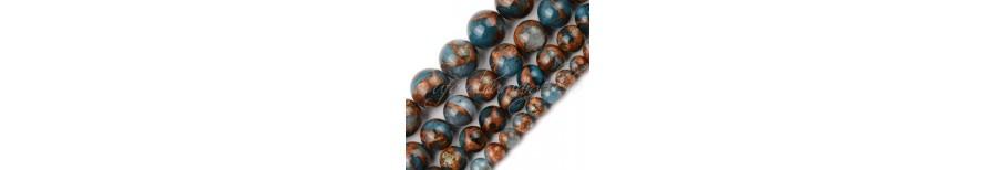 Margele agate mozaic