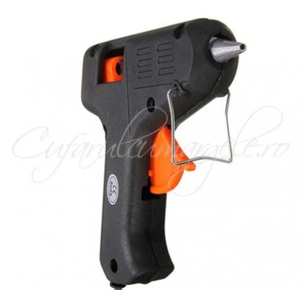 Aparat electric pistol de lipit cu silicon 40W