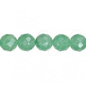 Aventurin verde sferic fatetat 10 mm
