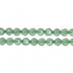 Aventurin verde sferic fatetat 4 mm