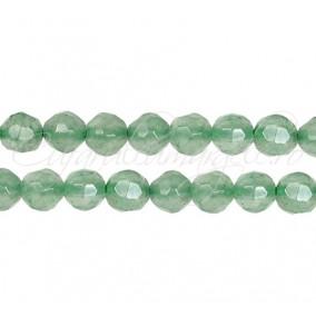 Aventurin verde sferic fatetat 6 mm
