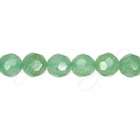 Aventurin verde sferic fatetat 8 mm