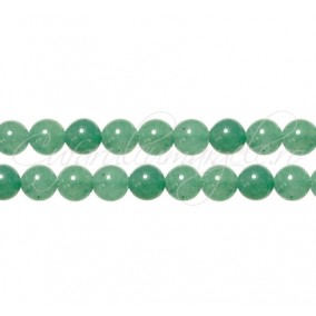 Aventurin verde sferic nefatetat 6 mm