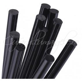 Baghete silicon negru 7mm