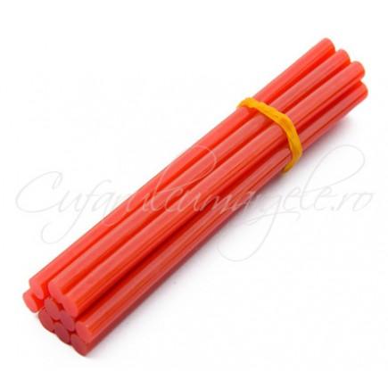 Baghete silicon rosu 7mm