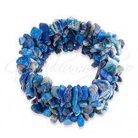 Bratara chips lapis lazuli 3cm