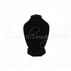 Bust velur negru fara burete 10x15cm