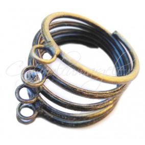 Cadru inel bronz arc 5 anouri