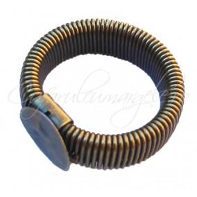 Cadru inel bronz flexibil platou rotund 10mm