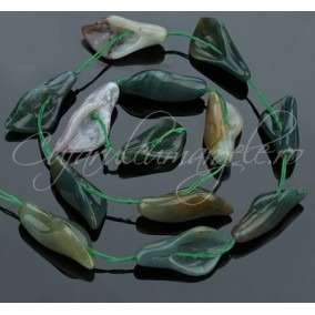 Cale agat verde 37x10x15mm