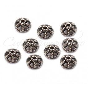 Capacele argintii 10x3 mm (10 buc)