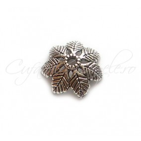 Capacele argintii 7 frunze 15x4 mm