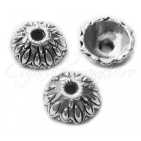 Capacele argintii 8x3mm (20buc)