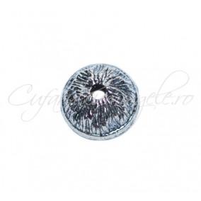Capacele argintii intregi ghinda 11x5mm