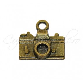 Charm bronz aparat foto 15x14 mm