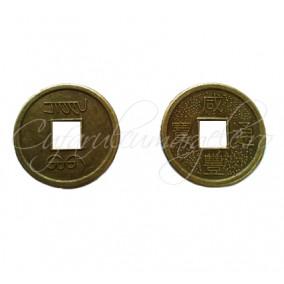 Charm bronz banut chinezesc 20mm