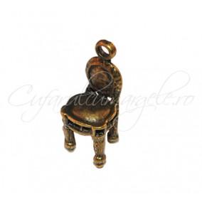 Charm bronz jilt 22x8x8 mm
