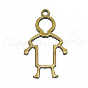 Charm bronz omulet 30x18 mm