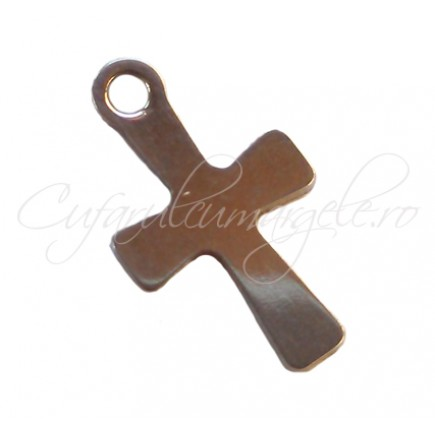 Charm inox cruce 13x7 mm