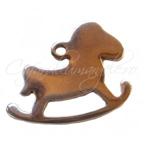 Charm inox ponei 17x13 mm