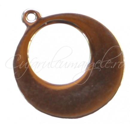 Charm inox rotund 16 mm