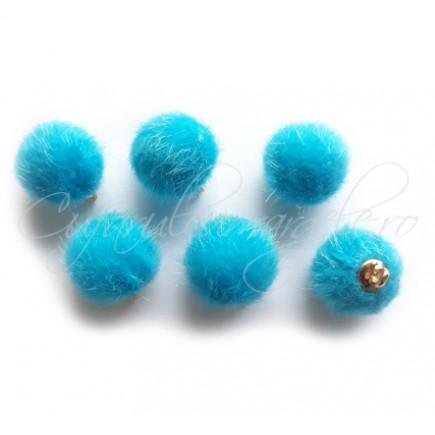 Ciucuri bila bleu azur 15mm