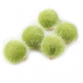 Ciucuri bila verde oliv 15mm
