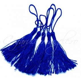 Ciucuri matanii albastru regal 13cm