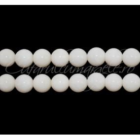Coral alb sferic 6 mm