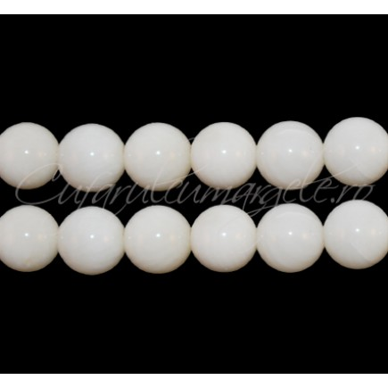 Coral alb sferic 8 mm