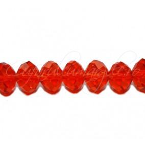 Cristal disc oranj 10x8 mm
