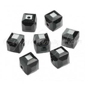 Cristale cub gri metalizat 4 mm