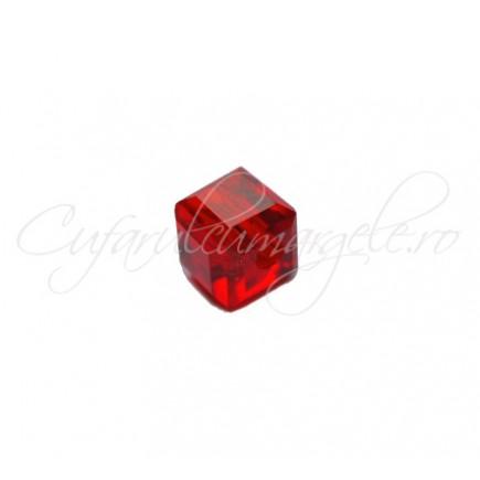 Cristale cub rosu 4 mm