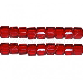 Cristale cub rosu 5 mm
