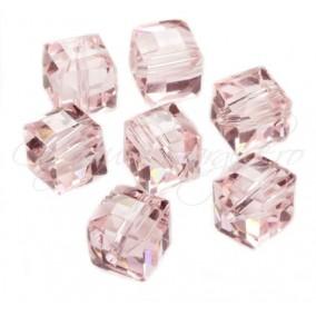 Cristale cub roz 5 mm