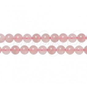 Cuart roz sferic nefatetat 4 mm