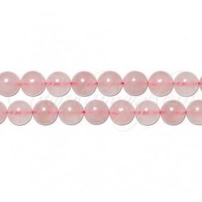 Cuart roz sferic nefatetat 6 mm