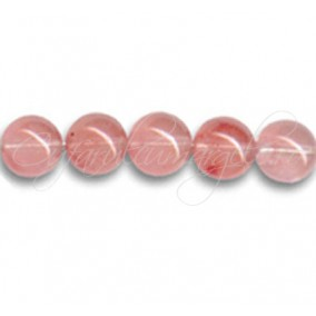Cuart strawberry sferic nefatetat 10 mm