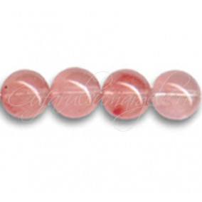 Cuart strawberry sferic nefatetat 12 mm