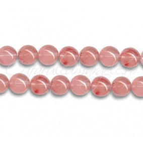 Cuart strawberry sferic nefatetat 8 mm