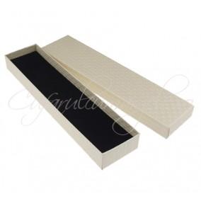 Cutie bratara carton alb 21x4x2cm