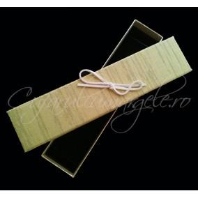 Cutie bratara carton tapet ou rata 20x4x3cm