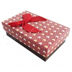Cutie cadou set bijuterii ciocolata 8x5x3cm