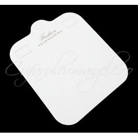 Etichete bijuterii masive carton alb 19x17cm