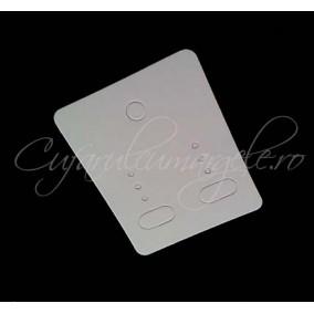 Etichete pret carton alb set cercei 5x4 cm 10 buc