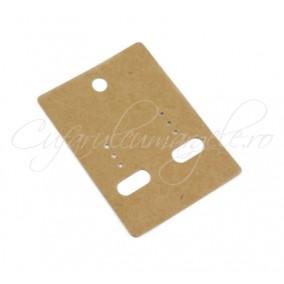 Etichete carton cercei 6,8x4,8cm 10 buc